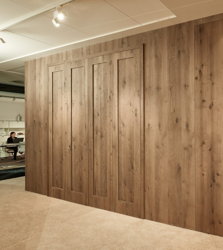 Custom bifold doors