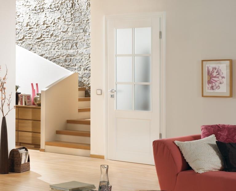 Hand-made luxury door set with glazing