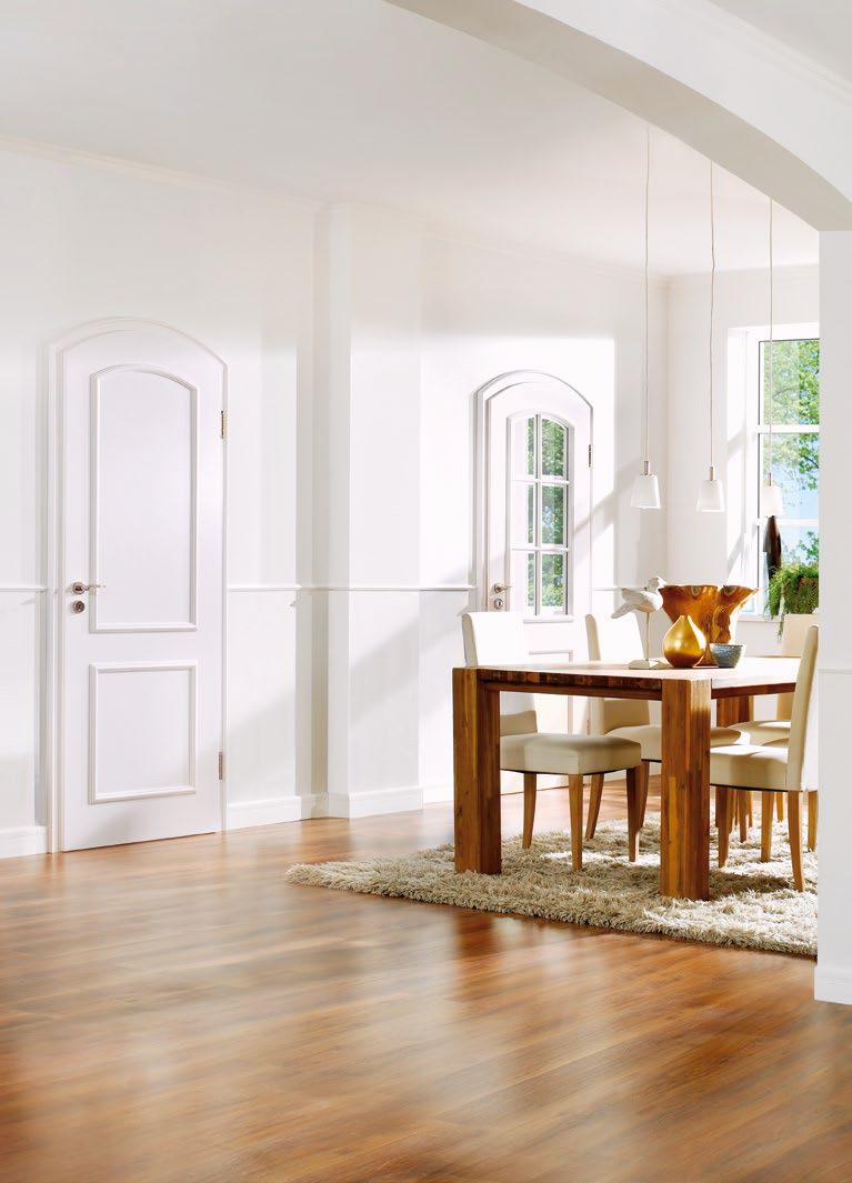 glazing single door set