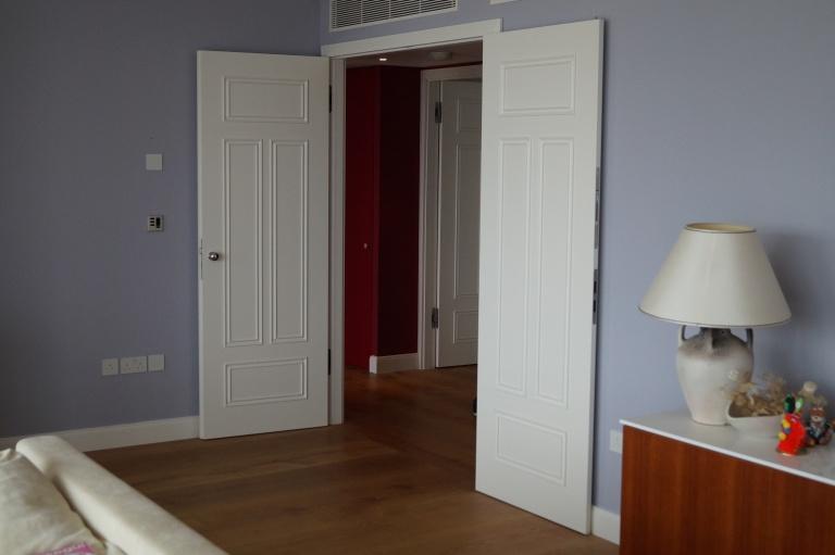 Luxury double doors