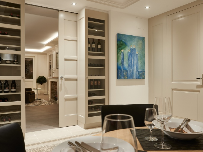 Luxury internal pocket doors