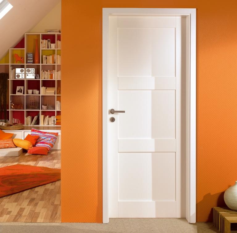 Modern white doors Adera