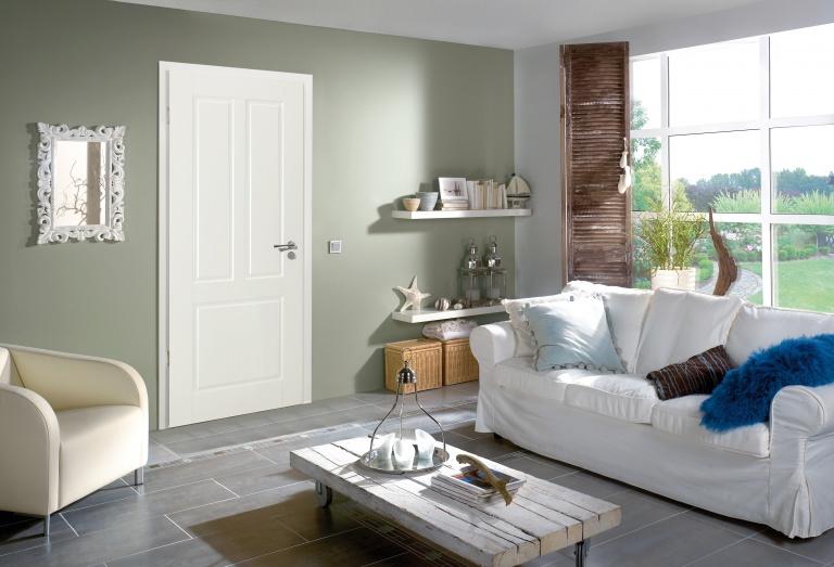Panel white door