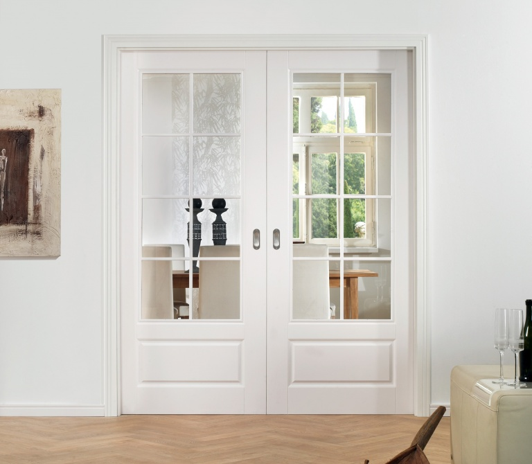 Pocket Double Door