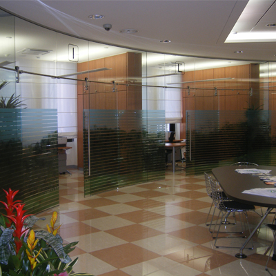 glass office doors