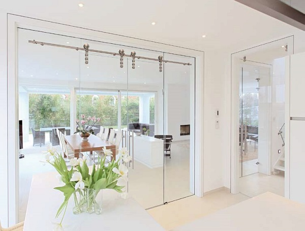 interior sliding partition doors