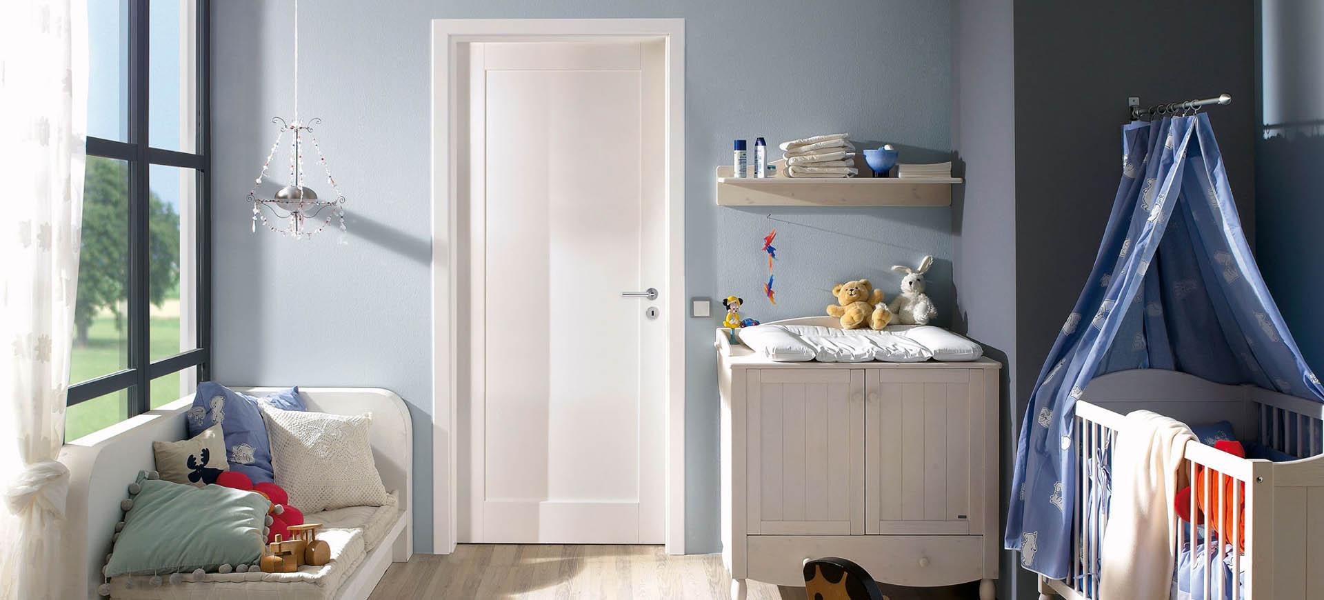 modern white doors